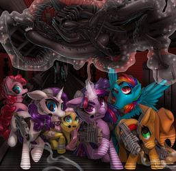 Aliens vs. Ponies