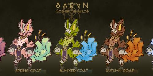 Saryn, Enigma God of the Wilds