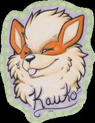 Kaukonine badge by SkyTea