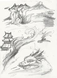 Page 6 - Fantasy Theme Sketchbook