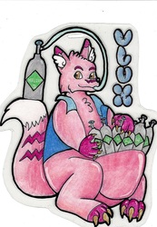 Vlux Helium Badge