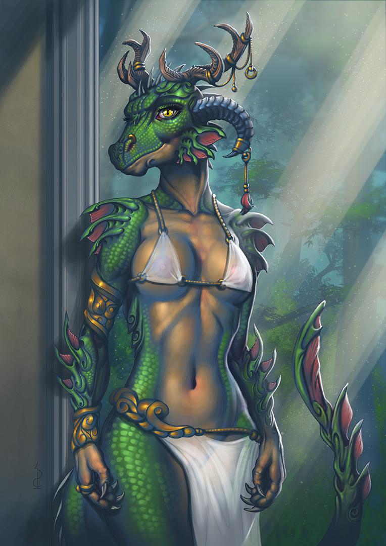 Term-45 - Ostara Dragon Goddess