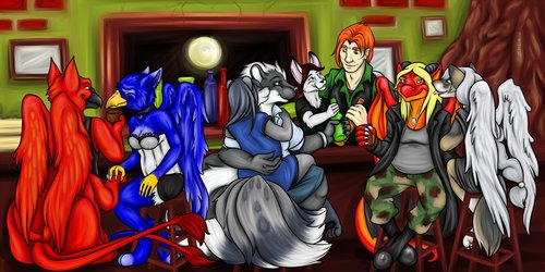 New Ireland Group Picture by Morticia ~ Gift Art ~