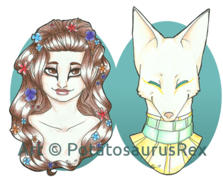 Comm: Flora and Seti