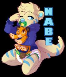 NabePup Badge - Commission