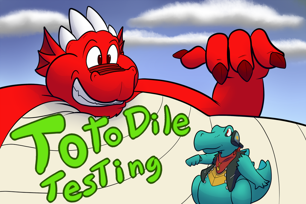 Totodile Testing Cover 0/6