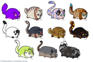 Tsum/Bean Stickers