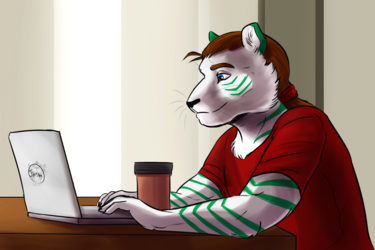 COMMISSION: Tiptapping Tiger