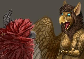 Poof. I'm a Bird.