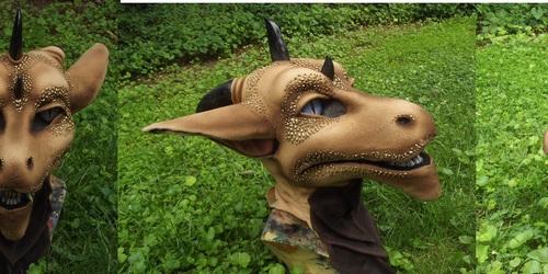 Desert Dragon head