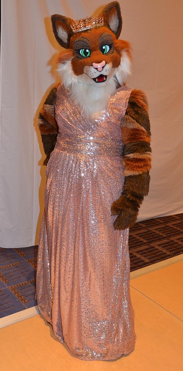 Calico's Sparkly Dress