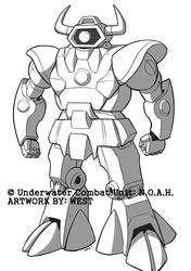 Underwater Combat Unit: N.O.A.H. - A-14 Taurus