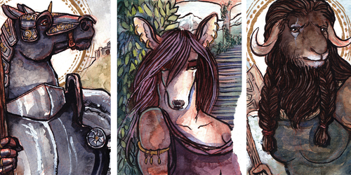 Medieval Hoofers
