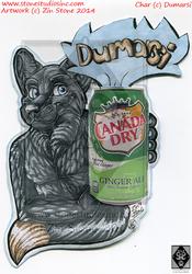 Dumarsi Drink Badge Commish