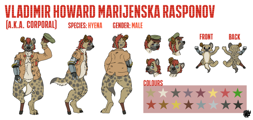 """""""Corporal"""" Reference Sheet"""