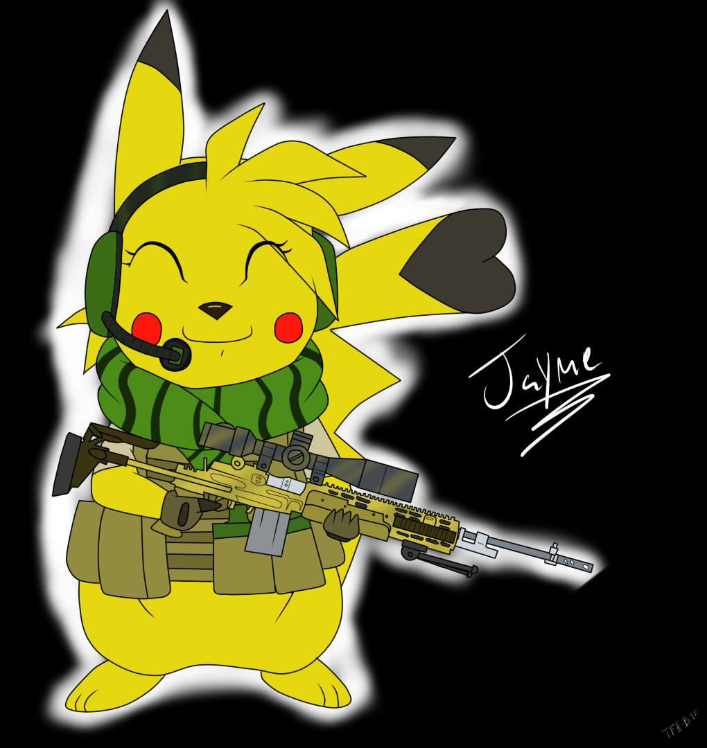 The one, The only, The Tactical Pikachu! (Girl Version)