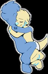 Cuddles Telegram Sticker