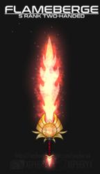 Flameberge Design
