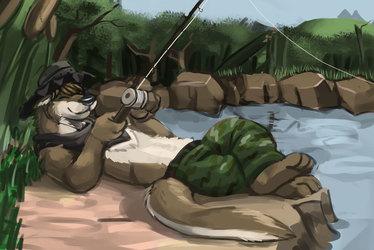 Lazy Summer Fishing