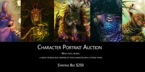 Character Portrait Auction!