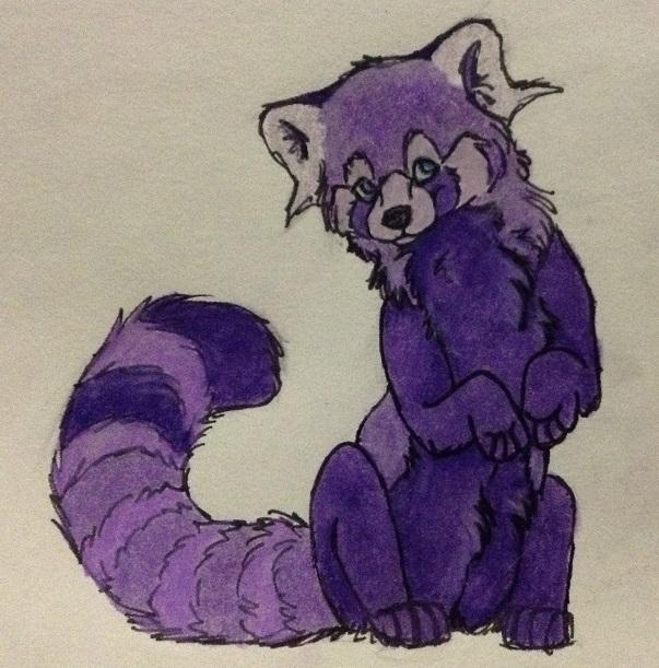 Purple Panda Power!