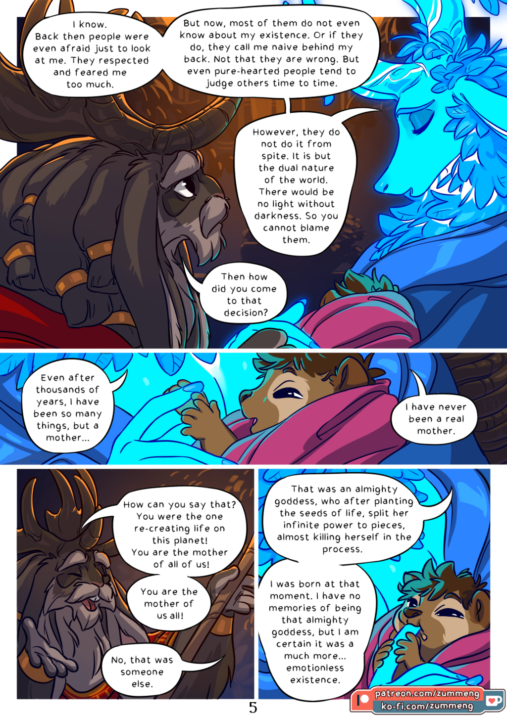 Tree of Life - Book 0 pg. 5.