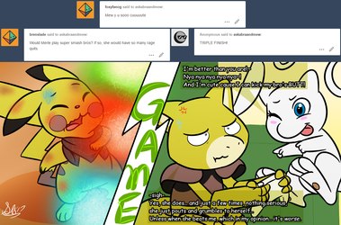 Ask Abra and Mew question #153