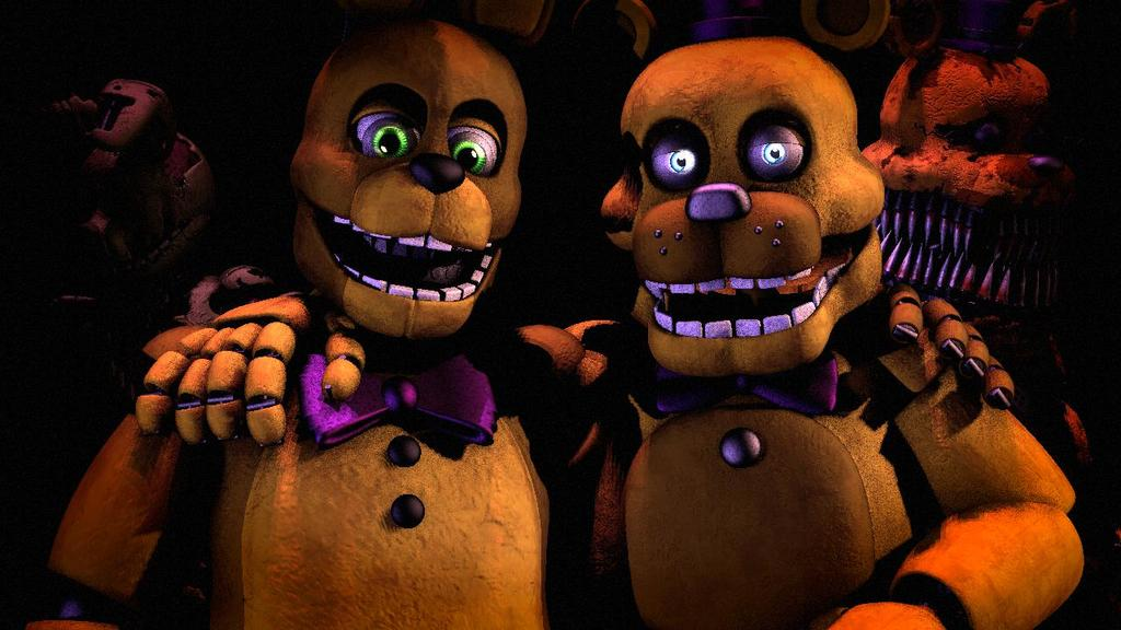 Fredbear and springbonnie