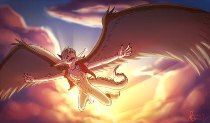 DragonJuno's Sketch Commission