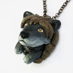 Customized Wolf Pop-Out Necklace