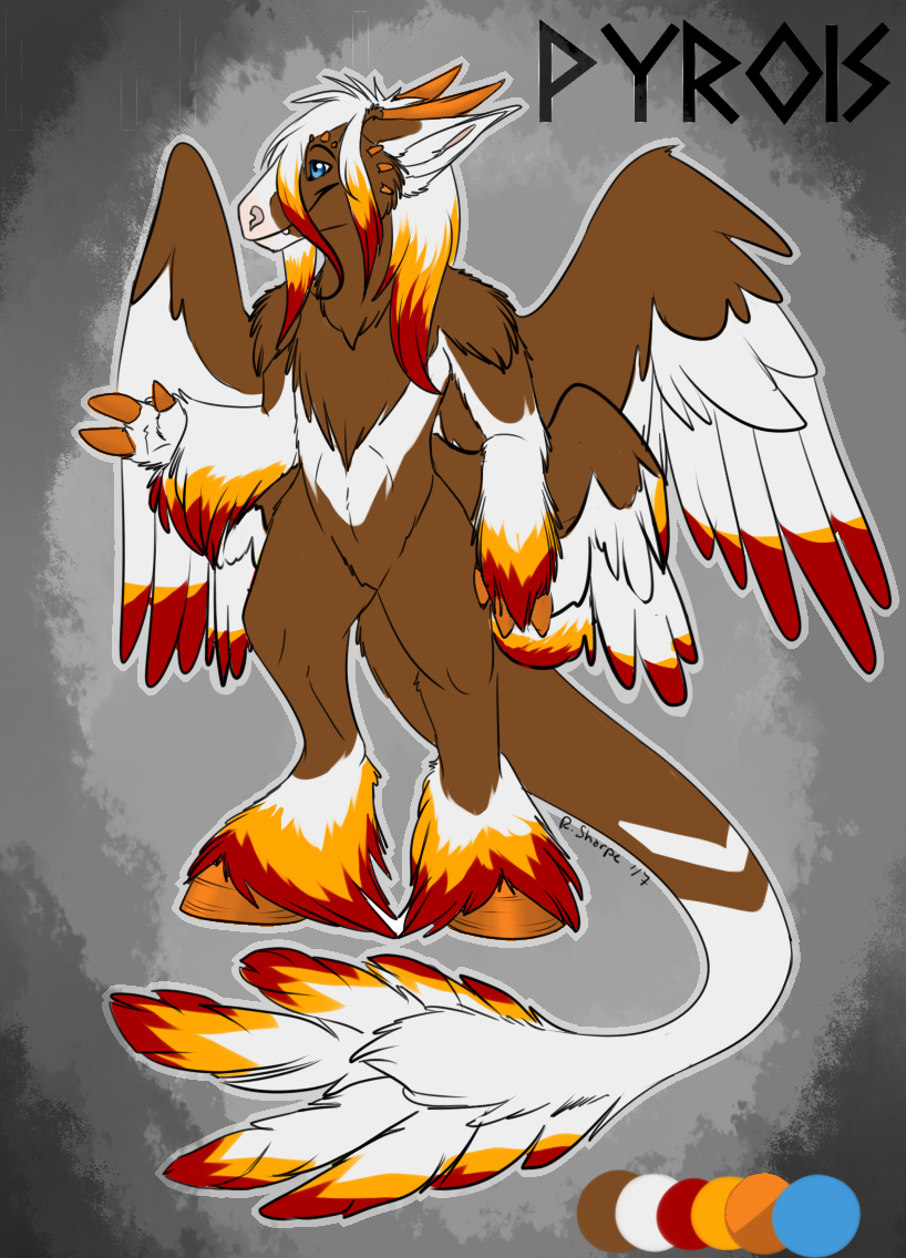 Most recent image: Pyrois, the firey one!