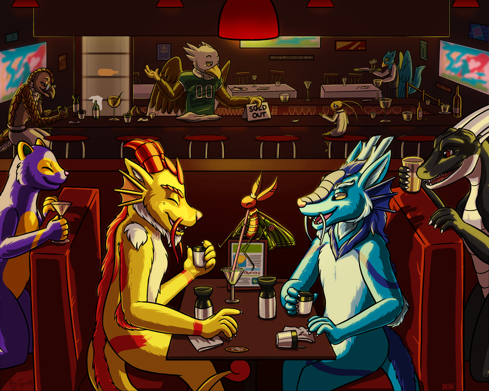 YCH Drinking the Bar Dry!