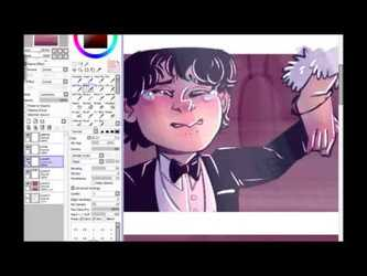Speed Paint: comic page