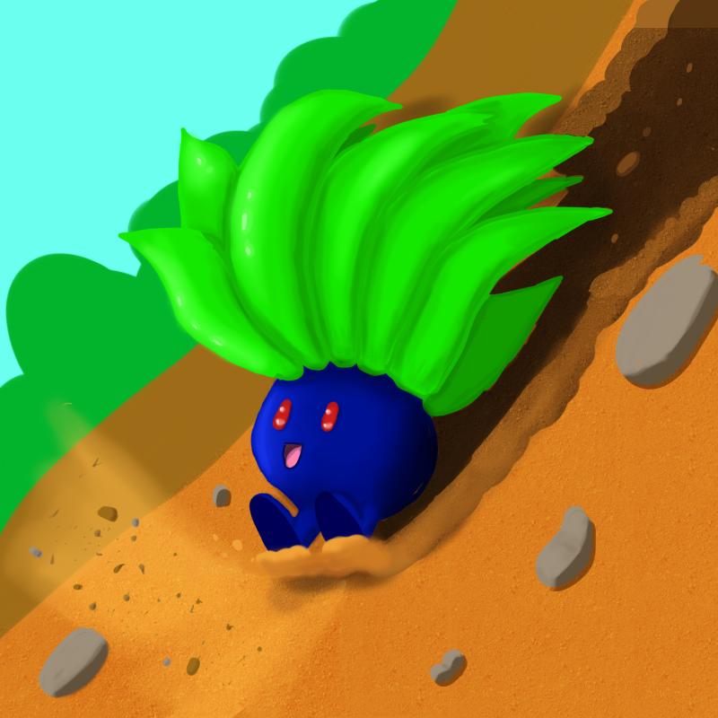 Oddish Goes Downhill