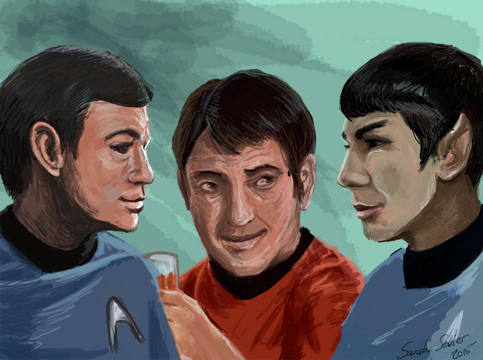 Welcome aboard, Mr. Spock
