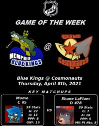 FHL Season 9 GOTW #11: Blue Kings @ Cosmonauts