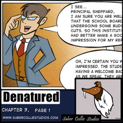 Denatured Chapter 3, Page 1