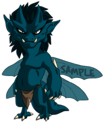 Sample Adoptable Imp - Blue