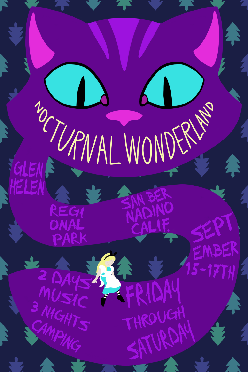 Nocturnal Wonderland - Alice Edition