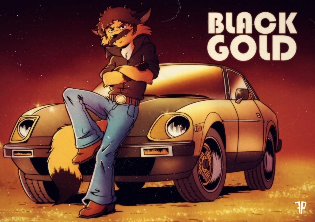 BLACK GOLD [COM] by FOX-POP