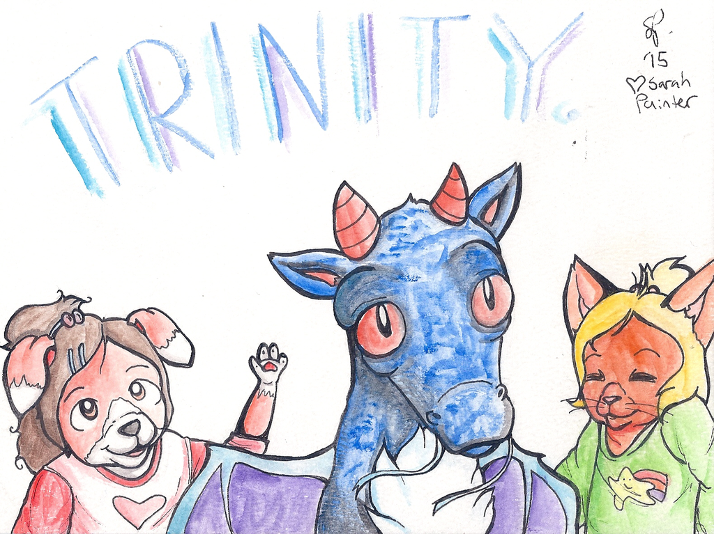 Badge/Drawing For Trinity