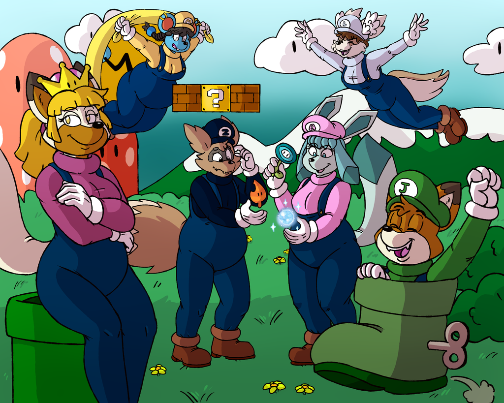 Commission - Do The Mario