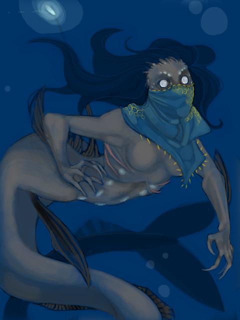 Viperfish mermaid