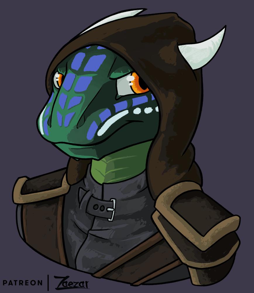 [Patreon] Grumpy lizard folk