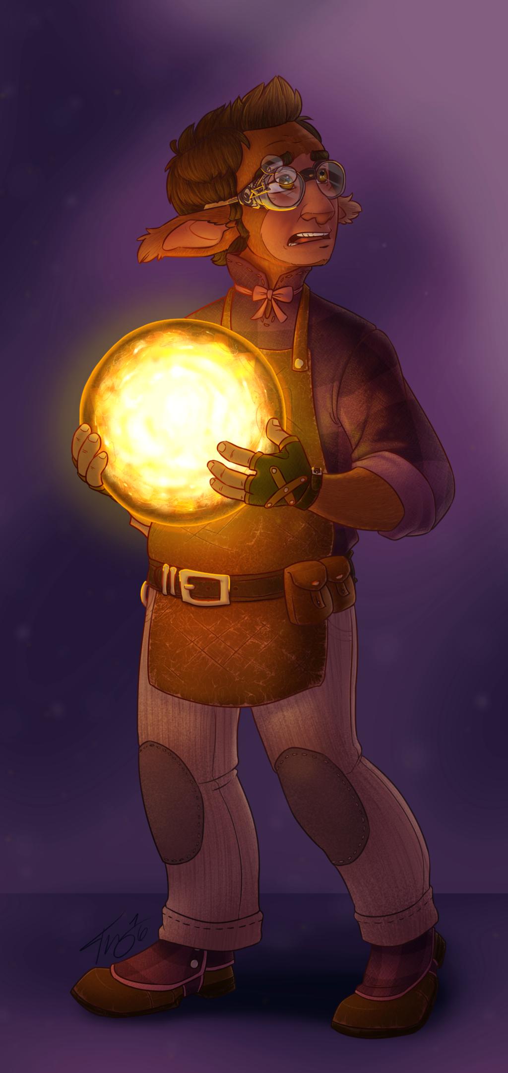 Steampunk Buu (Redux)