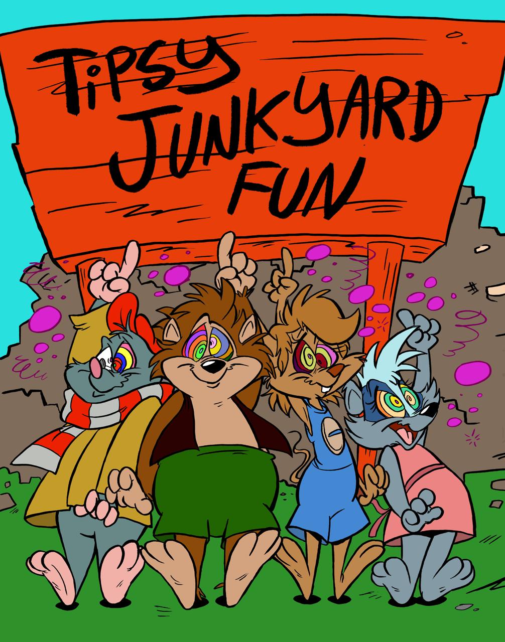 Tipsy Junkyard Fun - Cover