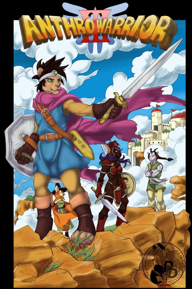 Fanart Dragon Warrior 3