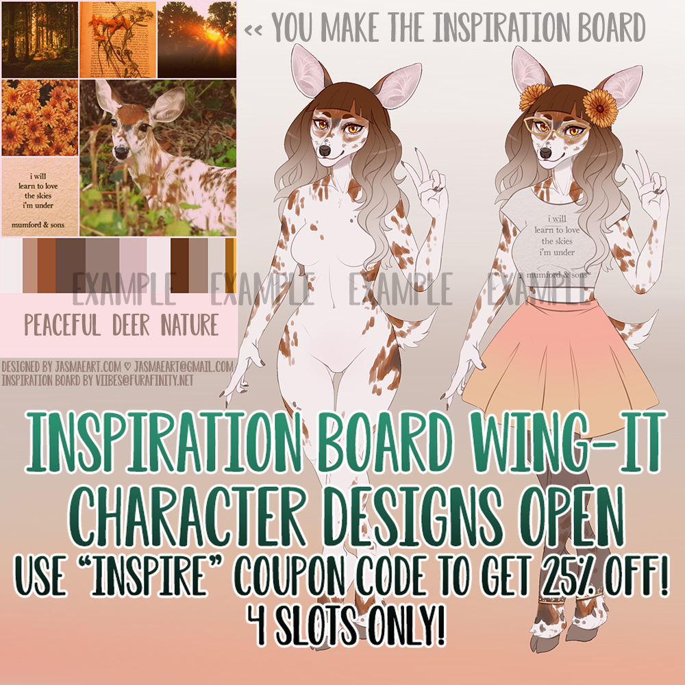 Inspiration Board Wing-Its OPEN