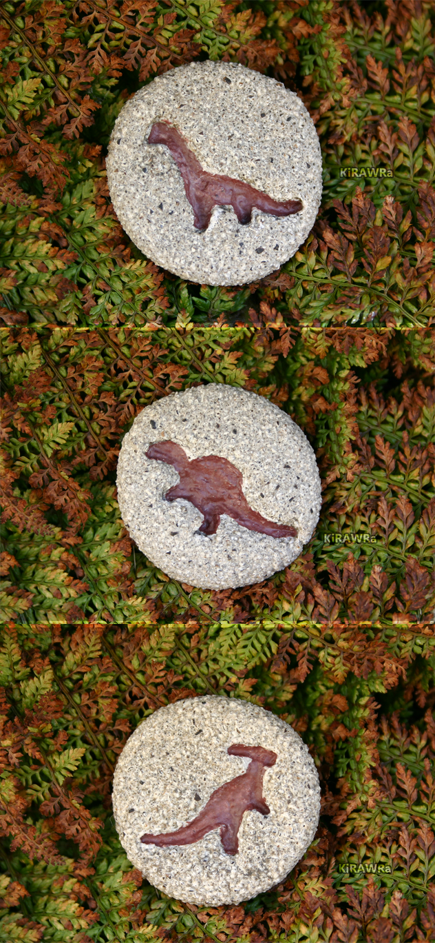 Clay Magnets: Fossil Dinos