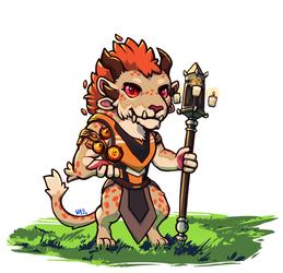 mini charr elementalist